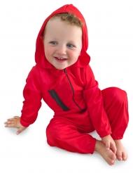 Costume da rapinatore rosso bebè