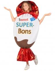 Costume da ovetto di cioccolato per adulto
