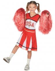 Costume da ragazza pompom usa per bambina