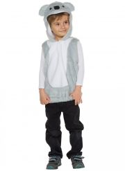 Costume da Koala grigio chiaro per bambino