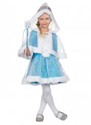 Costume principessa delle nevi bambina