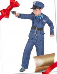 Cofanetto regalo travestimento e accessori da poliziotto per bambino