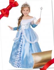 Cofanetto regalo travestimento e accessori da principessa azzurra