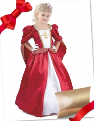 Cofanetto regalo travestimento e accessori da principessa medievale
