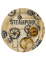6 Piatti in cartone Steampunk