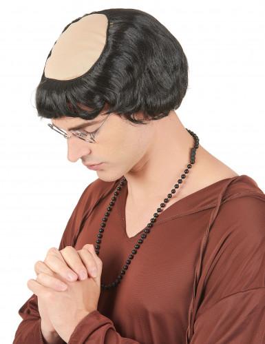 Parrucca da monaco uomo
