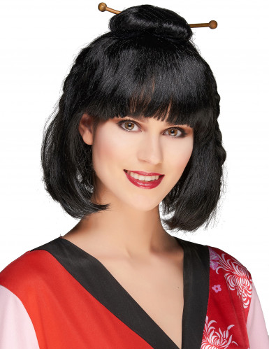 Parrucca nera cinese donna