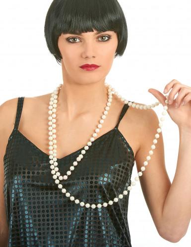 Collana lunga di perle donna-1