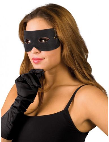 Maschera da bandito per adulti