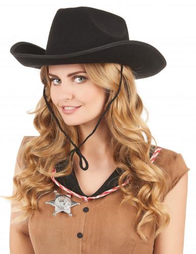 Cappello da cowboy adulto-1