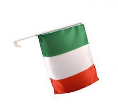 Bandiera da macchina per i tifosi dell'Italia