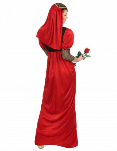 Costume medievale da dama rossa per donna-1