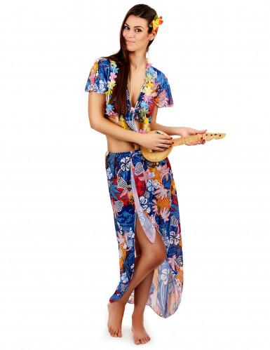 Costume turista hawaiana donna