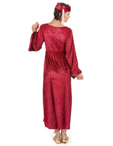 Costume regina medievale donna-2