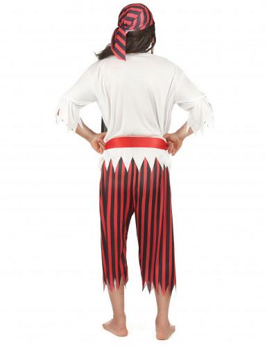 Costume da pirata leggendario per uomo-2