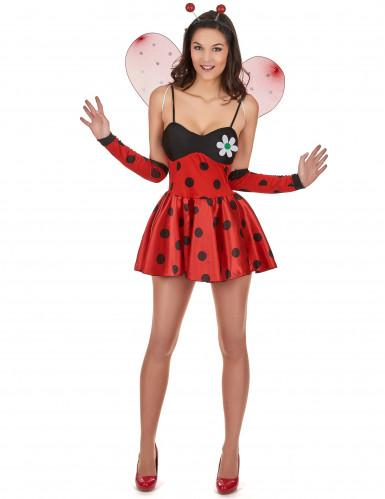 Costume coccinella birichina per donna