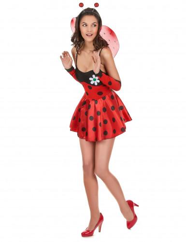 Costume coccinella birichina per donna-1