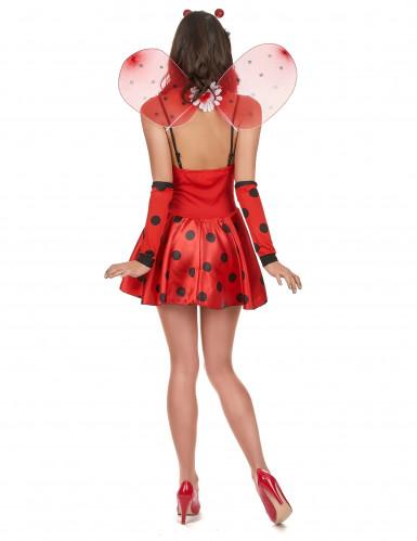 Costume coccinella birichina per donna-2