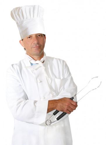 Cappello da cuoco per adulto