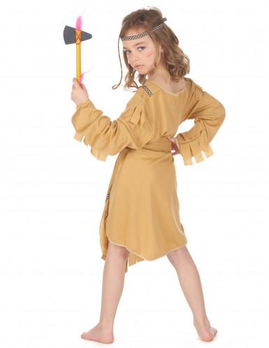Costume beige da indiana bambina-2