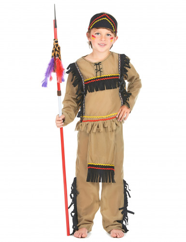 Costume indiano guerriero bambino