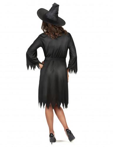 Costume da strega nera donna Halloween-2