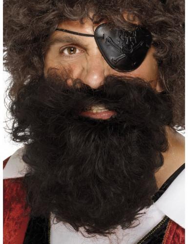 Barba da pirata uomo
