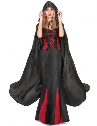Mantello da Vampiro nero adulto Halloween