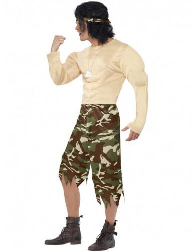 Costume da militare combattente per uomo-1