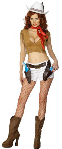 Costume cowgirl sexy donna