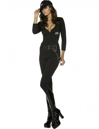 Costume poliziotta fbi sexy per donna