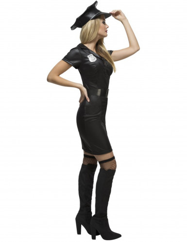 Costume poliziotta biricchina per donna-1