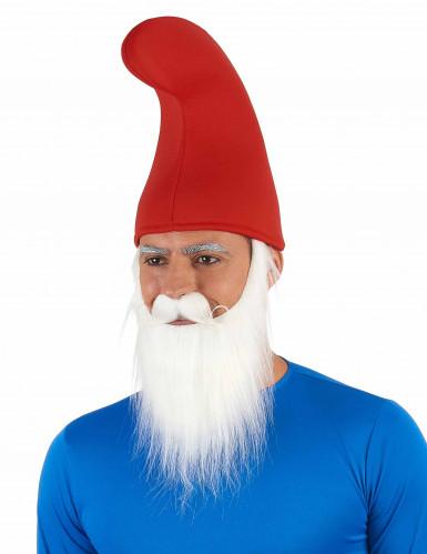Cappello da elfo rosso adulto-1