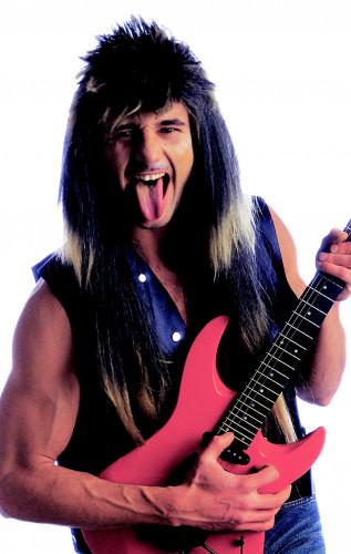 Parrucca da rocker uomo