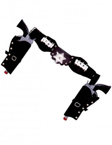 Cinturone per pistole cowboy