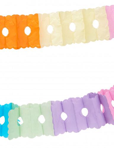Ghirlanda di carta multicolor 6 metri-1