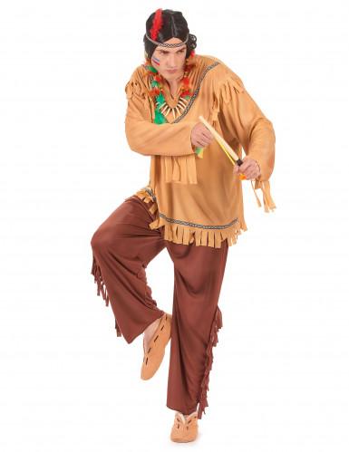 Costume indiano viso pallido uomo