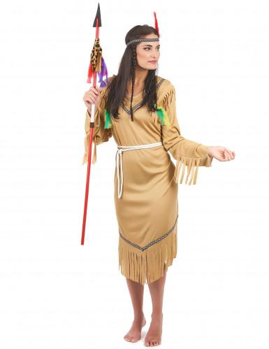 Costume indiana pallida per donna