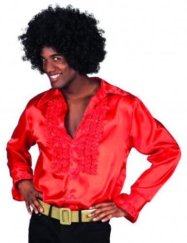 Camicia disco rossa da uomo