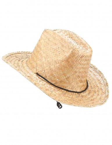 Cappello di paglia Dallas Bull adulto
