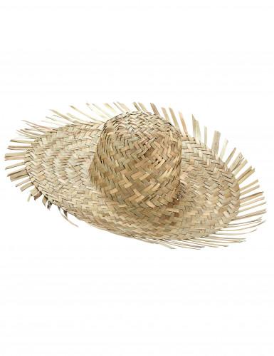 Cappello di paglia Hawaii adulto