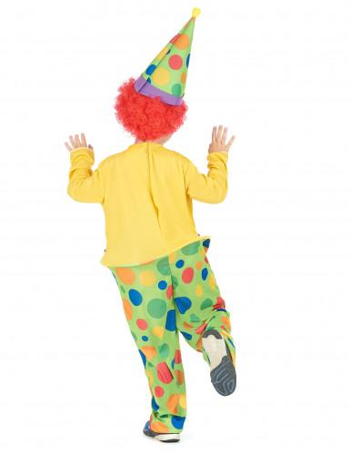 Costume da clown con cappello per bambino-2