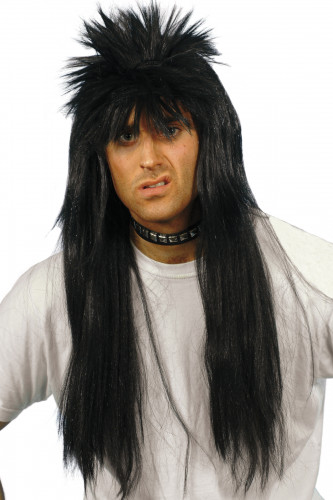 Parrucca rock / punk uomo