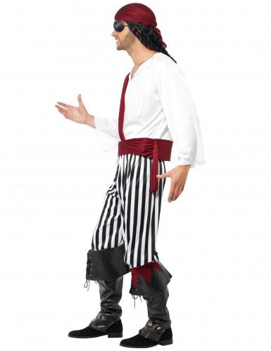 Costume da pirata del sud per uomo-2