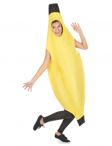 Costume a tunica da banana per adulto-4