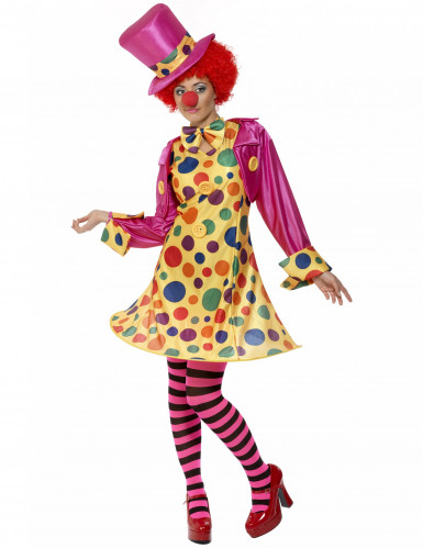 Costume clown donna