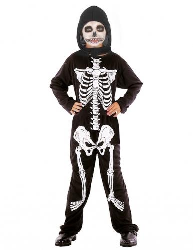 Costume da scheletro Halloween per bambino