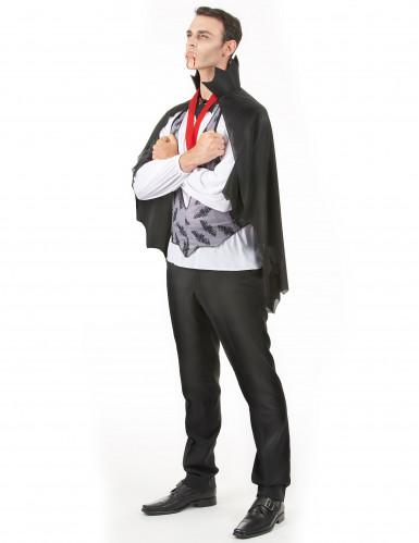 Costume da Dracula per uomo Halloween-1