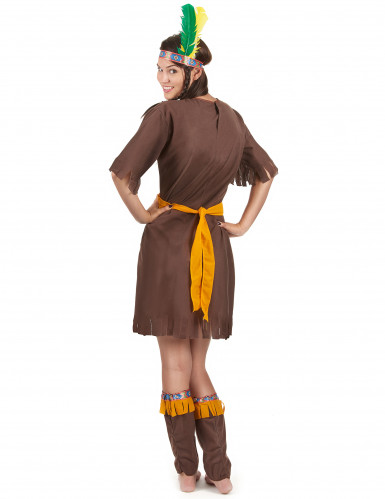 Costume indiana guerriera per donna-2