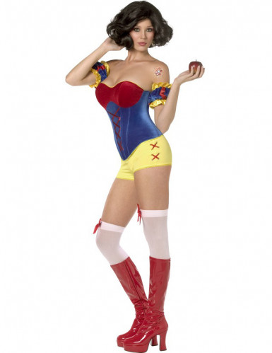Costume Rebel Toons Biancaneve sexy donna